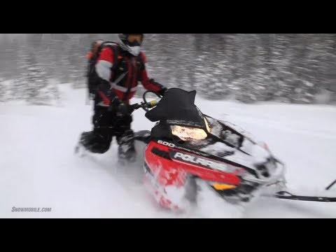 2013 Polaris 600 Pro-RMK 155 Snowmobile Review