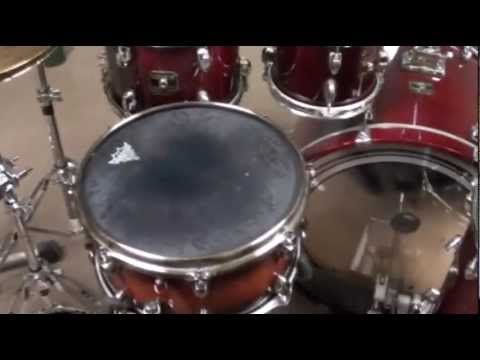 Gretsch Catalina Maple Drum Kit Tour Part 1