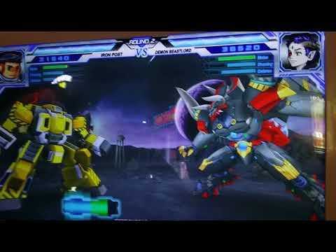 Hero of robots Iron Post Vs. Demon Beastlord