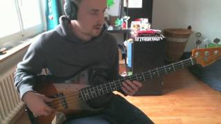Moose the Mooche melody on bass