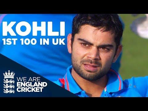 Video Virat Kohli's 1st & Only Hundred In The UK   England v India 2011 - Highlights download in MP3, 3GP, MP4, WEBM, AVI, FLV January 2017