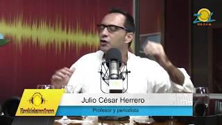 """Dr. Julio Cesar Herrero invita a la conferencia """"Políticos, periodistas y pensamiento crítico"""