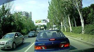 Курьезы на дороге — еще один неадекват за рулем Самары