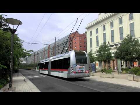 Full video trolley bus lyon - Bus lyon nancy ...