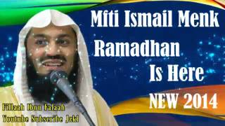 Ramadhan Is Here ᴴᴰ ~ Mufti Ismail Menk NEW 2014!!!!