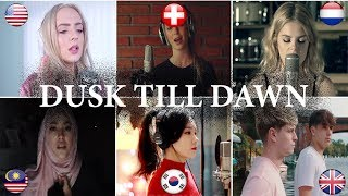 Video Who is better: ZAYN - Dusk Till Dawn ft. Sia Covers (Malaysia, Netherlands, USA, UK, Swiss, S-Korea) MP3, 3GP, MP4, WEBM, AVI, FLV Juli 2018