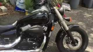 1. 2010 Honda Shadow Phantom VT750 Walkaround + Exhaust