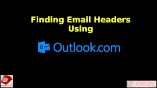 A short video tutorial on finding email headers using Outlook.com's web interfaces.Produced by www.ItsAScam.email in association with www.ScamNumbers.info.