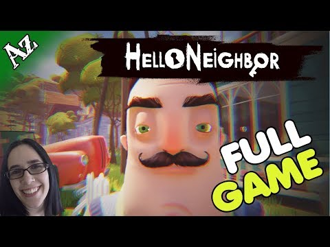 HELLO NEIGHBOR! WITH ENDING! | Interactive Stream | 1080p @60fps