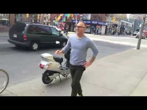 Phil Dancing in Toronto's Gay Village, Hayy