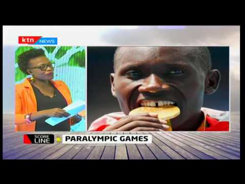 Score Line: Paralympic games, 25/9/2016