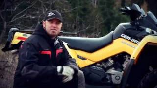 8. 2011 Can-Am Outlander 500 XT Test Ride