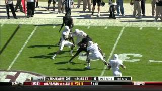 Luke Joeckel vs  Ole Miss  (2012)
