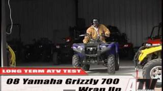 10. ATV Television Test - 2008 Yamaha Grizzly 700EPS long term wrap up