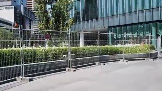 How much to hire Temporary Fencing