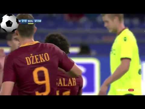 AS Roma vs Bologna 3-0 - All Goals and Highlights - Serie A 7/11/2016