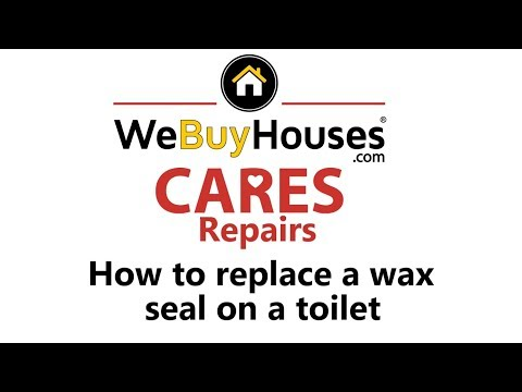 How to: Replace the Wax Ring Seal under a Toilet - PERFECT SEAL from Home Depot