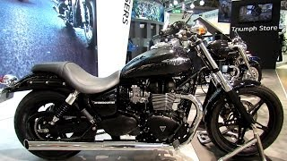 10. 2014 Triumph Speedmaster Walkaround - 2013 EICMA Milan Motorcycle Exhibition