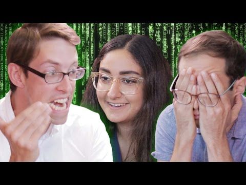 The Try Guys Try Coding With Girls Who Code