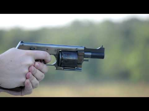 Shooting the Mateba MTR-8 target revolver