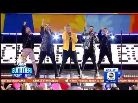 Don't Go Breaking My Heart - Backstreet Boys (Live On GMA)