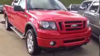M10328 2007 Ford F150 4x4 super crew at Vandevere Auto Outlet