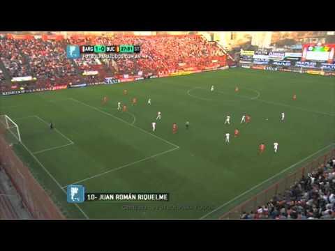 Video Juan Roman Riquelme gol de Roman en debut con Argentinos Juniors