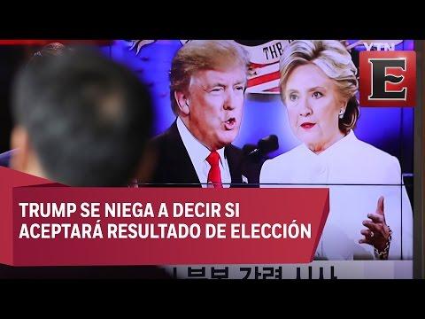 Tercer y último debate presidencial en EU