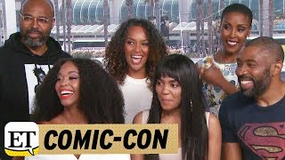More from Entertainment Tonight: http://bit.ly/1xTQtvw  ET spoke with the cast during San Diego Comic-Con on Saturday.
