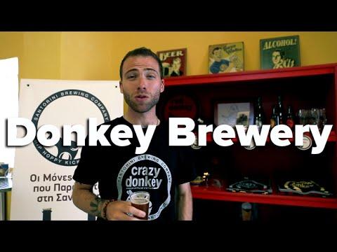 Donkey Brewery – Santorini, Greece