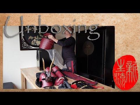 Yoroi unpacking - Iron Mountain Armory Samurai Armor