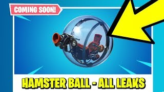 *NEW* FORTNITE UPDATE - THE BALLER (HAMSTER BALL VEHICLE) *OFFICIAL* & NEW ITEM SHOP