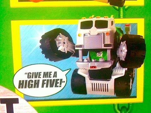 Stinky The Garbage Truck! Hot Toy for Boys Christmas 2010 by Mike Mozart @JeepersMedia