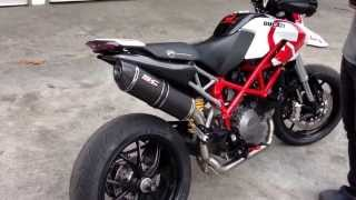 6. SC-Project Oval full system 2-1 for Ducati Hypermotard 796 exhaust sound @ SC-Project Thailand