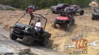 8. Rock Crawling a Kawisaki Mule on REV LIMITER