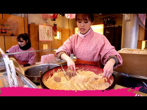 Japanese STREET FOOD Tour Of Asakusa - UNIQUE JAPANESE SWEETS | Tokyo, Japan