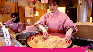 Download Video Japanese STREET FOOD Tour of Asakusa - UNIQUE JAPANESE SWEETS | Tokyo, Japan MP3 3GP MP4