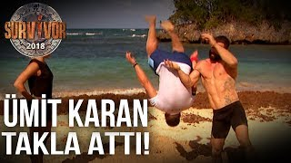 Video Survivor 2018 | TV'de Yok |  Turabi, Ümit Karan'a takla atmayı öğretti! MP3, 3GP, MP4, WEBM, AVI, FLV Februari 2018