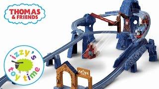 Thomas Train Mystery Grab Bag! Trackmaster Risky Rails Bridge Drop Fun Toy Trains for Kids
