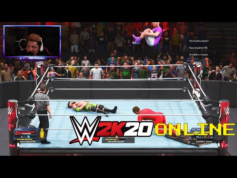 WWE 2K20 Online - THE MOST DESPERATE GUY I'VE EVER SEEN