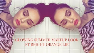 OPEN ME!:)welcome back to my channel gorgeous people! todays video is a summer inspired glowing makeup tutorial ft a bright orange lip! if you enjoyed this video please like, comment, share and subscribe and I will see you next Friday at 8pm in my next video!xoFOLLOW ME!-INSTAGRAM- abicrane_SNAPCHAT- abicraneeTWITTER- abicrane_PARTNERSHIPS/ PR PARCELS ETC CONTACT-abigail.tamsin@gmail.comCHECK OUT MY PREVIOUS VIDEO HERE-https://www.youtube.com/watch?v=6RfCUJwJ_1I&t=25sSIGMA BRUSHES LINK (use code 'ABIGAILTAMSIN' at checkout for 10% off!) FREE U.S SHIPPING ON ORDERS $50+FREE INTERNATIONAL SHIPPING ON ORDERS $150+http://sigma-beauty.7eer.net/c/340150/146780/2835SHOP MY SIGMA FAVES HERE!-https://www.sigmabeauty.com/c/1634BRUSHES/ SIGMA PRODUCTS USED IN THIS VIDEO- (use code 'ABIGAILTAMSIN' at checkout for 10% off!)SIGMA PENCIL E30-http://sigma-beauty.7eer.net/c/340150/146780/2835?u=http://www.sigmabeauty.com/e30-pencil/p/E30PARNTSIGMA DUO FIBRE BLUSH BRUSH F15-http://sigma-beauty.7eer.net/c/340150/146780/2835?u=http://www.sigmabeauty.com/f15-duo-fibre-powderblush/p/F15PARNTSIGMA 3DHD BLENDER SPONGE-https://www.sigmabeauty.com/3dhd-blender/p/3DBSIGMA F10 POWDER/ BLUSH BRUSH-http://sigma-beauty.7eer.net/c/340150/146780/2835?u=http://www.sigmabeauty.com/f10-powderblush/p/F10PARNTE40 TAPERED BLENDING BRUSH-http://sigma-beauty.7eer.net/c/340150/146780/2835?u=http://www.sigmabeauty.com/e40-tapered-blending/p/E40PARNTSIGMA HIGH CHEEKBONE HIGHLIGHTER F03-http://sigma-beauty.7eer.net/c/340150/146780/2835?u=http://www.sigmabeauty.com/f03-high-cheekbone-highlighter/p/F03SIGMA LARGE DUO FIBRE F10 BRUSH (BRONZER)-http://sigma-beauty.7eer.net/c/340150/146780/2835?u=http://www.sigmabeauty.com/f50-duo-fibre/p/F50PARNTSIGMA E55 LARGE SHADING BRUSH-http://sigma-beauty.7eer.net/c/340150/146780/2835?u=http://www.sigmabeauty.com/e55-eye-shading/p/E55PARNTIGMA 3DHD PRECISION BRUSH-http://sigma-beauty.7eer.net/c/340150/146780/2835?u=http://www.sigmabeauty.com/3dhd-precision/p/3DPSIGMA 3DHD KABUKI-http://sigma-beauty.7eer.net/c/340150/146780/2835?u=http://www.sigmabeauty.com/3dhd-kabuki/p/3DKE25 BLENDING BRUSH-http://sigma-beauty.7eer.net/c/340150/146780/2835?u=http://www.sigmabeauty.com/e25-blending/p/E25PARNTSIGMA SMALL DUO FIBRE F55-http://sigma-beauty.7eer.net/c/340150/146780/2835?u=http://www.sigmabeauty.com/f55-small-duo-fibre/p/F55PARNTSIGMA ULTIMATE COPPER SET-http://sigma-beauty.7eer.net/c/340150/146780/2835?u=http://www.sigmabeauty.com/ultimate-copper-brush-set/p/ULT01 Thanks for much for watching! love and hugs xo THIS VIDEO IS NOT SPONSORED :)DISCLAIMER- All opinions are 100% honest and my own, I only talk about products I love. Some links above are affiliate links!