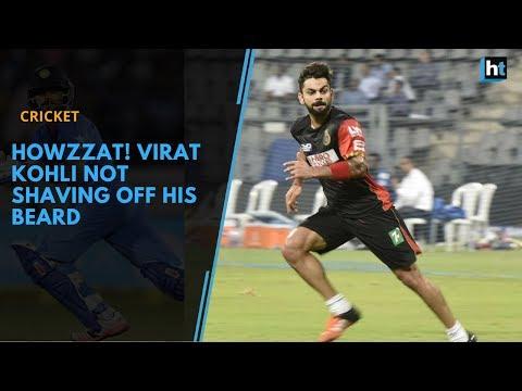 Beard styles - Virat Kohli says beard suits him, not shaving it off any time soon