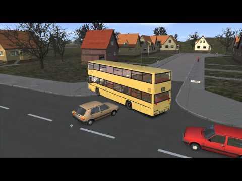 Let's Play #003(2): OMSI - Bussimulator: Crash in Grundorf