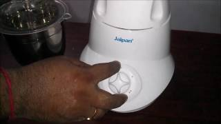 This video is the e-demo of the Jaipan Mixer Grinder in Bengali language from start to end, with all questions answered. It has really powerful motor and a durable body for best performance. So go ahead to know better about the product, features and how does it work.Check out this video for more detailed look into the working of your daily appliance - Mixer Grinder.For any issues or queries, please call us at: 011-6648 9200 or email us anytime: support@greendust.com
