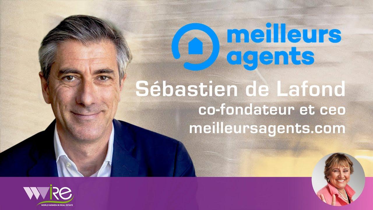 Sébastien de Lafond CEO & Co-Fondateur de Meilleurs Agents au PROPEL by MIPIM 2020.