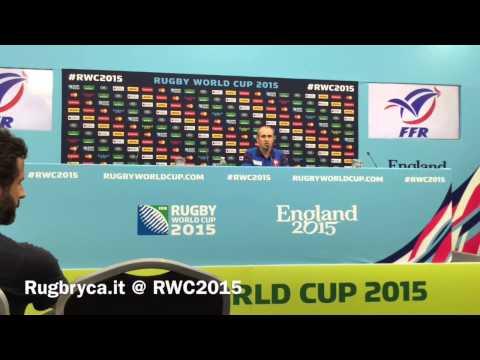 RWC2015, il XV della Francia per l'esordio con l'Italia