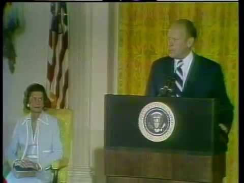 Swearing in Ceremony of Gerald R. Ford as 38th President of the United States, August 9. 1974