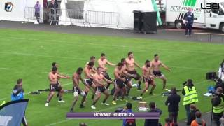 2016_HH7 - Le HAKA de la New Zealand Team lors du Tournoi International Howard Hinton 7's