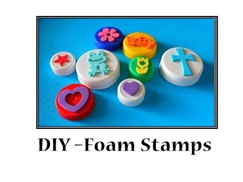 DIY - How to make Foam Stamps