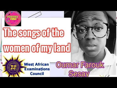 the songs of the women of my land -Oumar Farouk Sesay